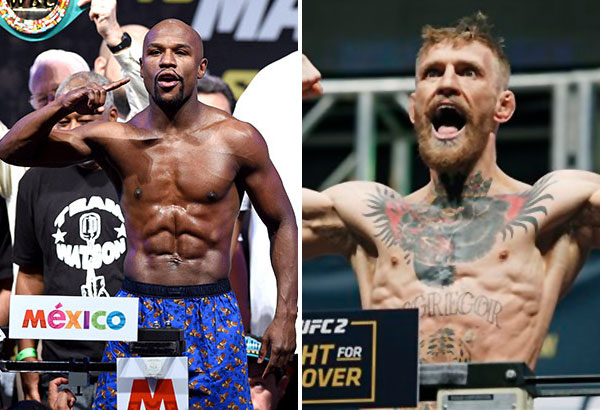 Mayweather vs McGregor - online betting